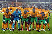 Fotball<br /> Afrika Cup / Afrikamesterskapet<br /> 28.01.2015<br /> Elfenbenskysten v Kamerun<br /> Foto: Panoramic/Digitalsport<br /> NORWAY ONLY<br /> <br /> Lagbilde Elfenbenskysten