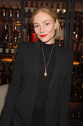 CLARA PAGET at the launch of La Maison Remy Martin pop-up private members club at 19 Greek Street, Soho, London on 2nd November 2015.