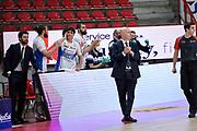 De'Longhi Treviso, Menetti Massimiliano<br /> Openjobmetis Varese - De'Longhi Treviso<br /> Legabasket Serie A UnipolSAI 2020/2021<br /> Varese, 27/12/2020<br /> Foto Ciamillo-Castoria/ Claudio Degaspari