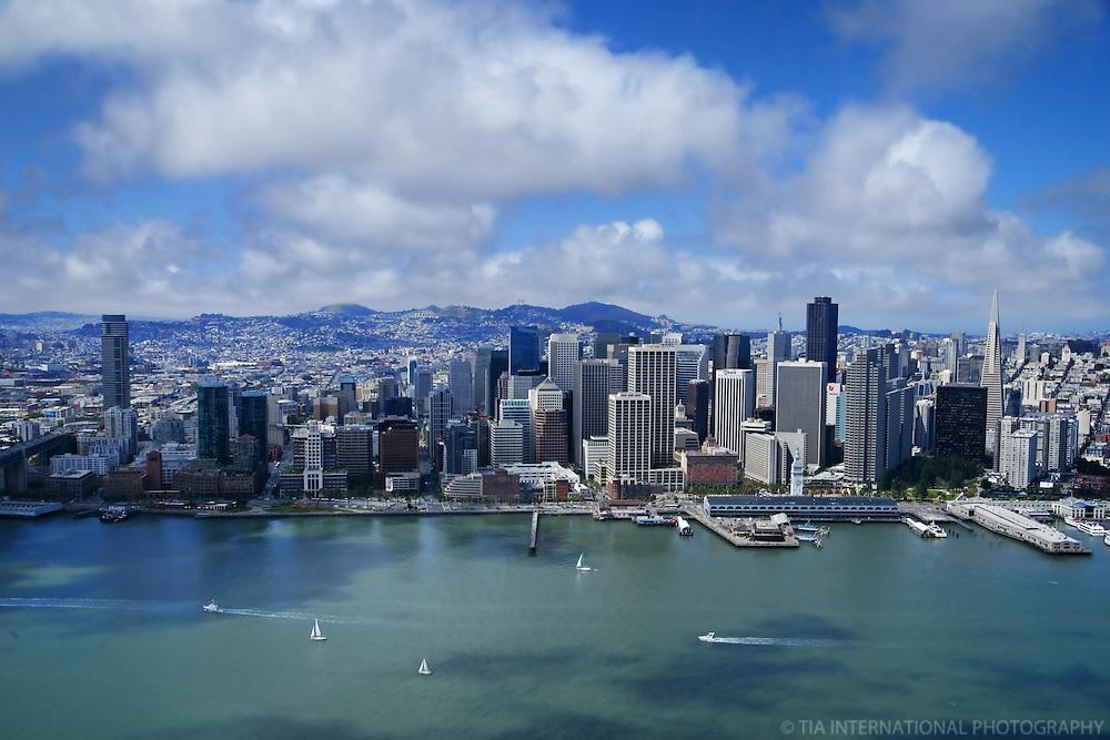 San Francisco Skyline (Aerial)