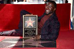 Kevin Hart is honored with a Star on the Hollywood Walk of Fame in Los Angeles, California on October 10, 2016. Photo by Lionel Hahn/AbacaUsa.com