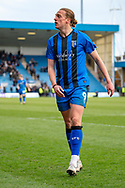 Gillingham FC forward Tom Eaves (9) during the EFL Sky Bet League 1 match between Gillingham and Oxford United at the MEMS Priestfield Stadium, Gillingham, England on 9 March 2019.