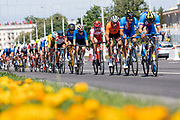The men's cycling road race during the 2019 Minsk European Games on the 23rd June 2019 in Minsk City in Belarus.