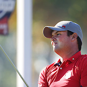 Ryder Cup 2016. Day One. Patrick Reed of the United States in action during the Friday afternoon four-ball competition during the Ryder Cup at  Hazeltine National Golf Club on September 30, 2016 in Chaska, Minnesota.  (Photo by Tim Clayton/Corbis via Getty Images)