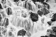 Detail of waterfall<br />Pemberton<br />British Columbia<br />Canada