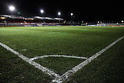 General view of Rodney Parade before the The FA Cup match between Newport County and Alfreton Town at Rodney Parade, Newport, Wales on 15 November 2016. Photo by Andrew Lewis.