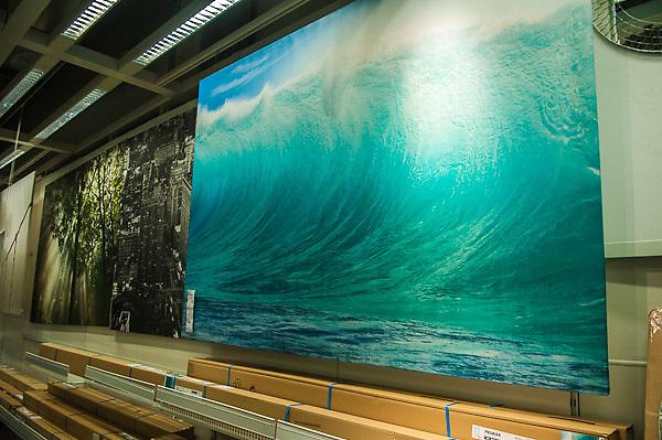 Mark A Johnson Wave photo in Ikea Store