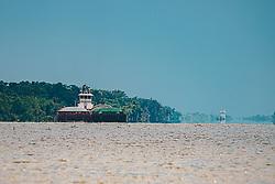 THEMENBILD - Tanker bringen Gueter in den Hafen von New Orleans, aufgenommen am 06.08.2019, New Orleans, Vereinigte Staaten von Amerika // tankers bring goods to the port of New Orleans, New Orleans, United States of America on 2019/08/06. EXPA Pictures © 2019, PhotoCredit: EXPA/ Florian Schroetter