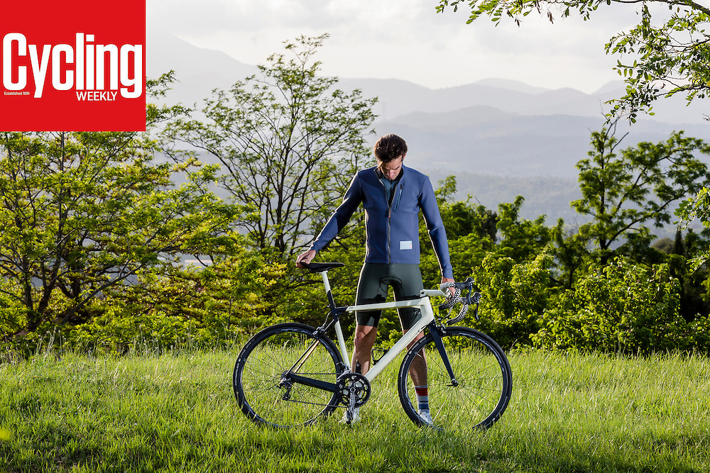Girona, Spain, May 25th, 2016. <br /> Scotish cyclist David Millar interview photographed for Weekly Cycling Magazine.  Photos: Toni Vilches Fotografia.