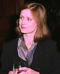 MS.SARAH MACAULAY close friend of The Chancellor of the Exchequer Gordon Brown MP  at a reception in London on 4th November 1997.MCX 95
