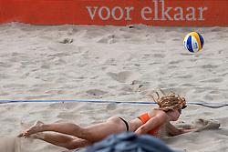 18-07-2018 NED: CEV DELA Beach Volleyball European Championship day 4<br /> Laura Bloem NED #2