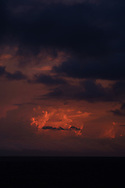 Dreamlike clouds at sunset, Batangas, Luzon Island, Philippines, Southeast Asia