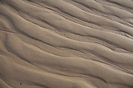 Patterns left in the sand by the retreating tide at High Head, Truro.