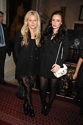 Left to right, OLYMPIA SCARRY and CAMILLA AL FAYED at an action of art donated by leading artists sponsored by De'Longhi in aid of Macmillan Cancer Support held at the Arts Club, Dover Street, London on 8th November 2007.<br /><br />NON EXCLUSIVE - WORLD RIGHTS