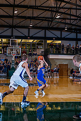21 January 2012: TriValley Vikings v Fieldcrest Knights in the Championship game of 2012 101st McLean County Tournament at the Shirk Center, Illinois Wesleyan University, Bloomington IL