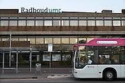 Nederland, Nijmegen, 2-10-2013Ingang gebouw umc radboud, umcn, academisch, radboudumc, universitair ziekenhuis. Foto: Flip Franssen