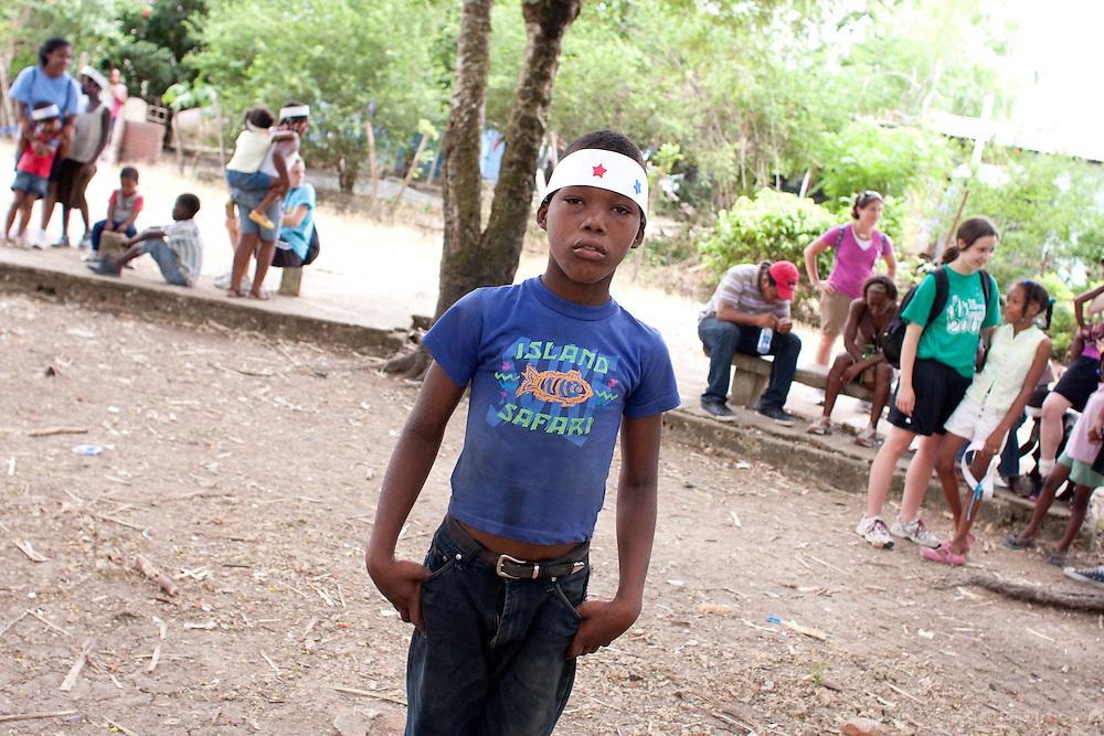 Hota Mayor, Dominican Republic- June 2011:  Day 1. Master's School DR trip. (Photo by Robert Falcetti). .