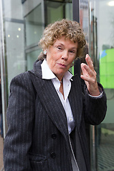 © Licensed to London News Pictures. 28/01/2018. London, UK. KATE HOEY MP arrives at ITV Studios to appear on the television programme 'Peston on Sunday'. Photo credit: Vickie Flores/LNP