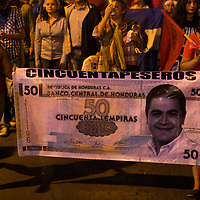 After a march by Nationalist PArty supporters, videos circulated on social media showing that many of those on the march had been paid 50 Lempiras to attend. Protestors mocked them, calling them cinquentapeseros, in allusion to the 50 Lempiras paid, and that the Nationalists needed to pay for support.