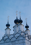 Detail of the Cathedral of the Nativity of the Mother of God in Suzdal, Russia