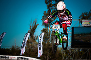 # 95 (NOBLES Barry) USA at the UCI BMX Supercross World Cup in Santiago del Estero, Argintina.