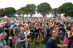 Party At The Palace, Saturday 11th August 2018<br /> <br /> Pictured: The crowd enjoy The Complete Stone Roses<br /> <br /> Aimee Todd | Edinburgh Elite media