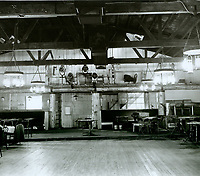 1943 Looking at the east wall (main room entrance) of the Hollywood Canteen