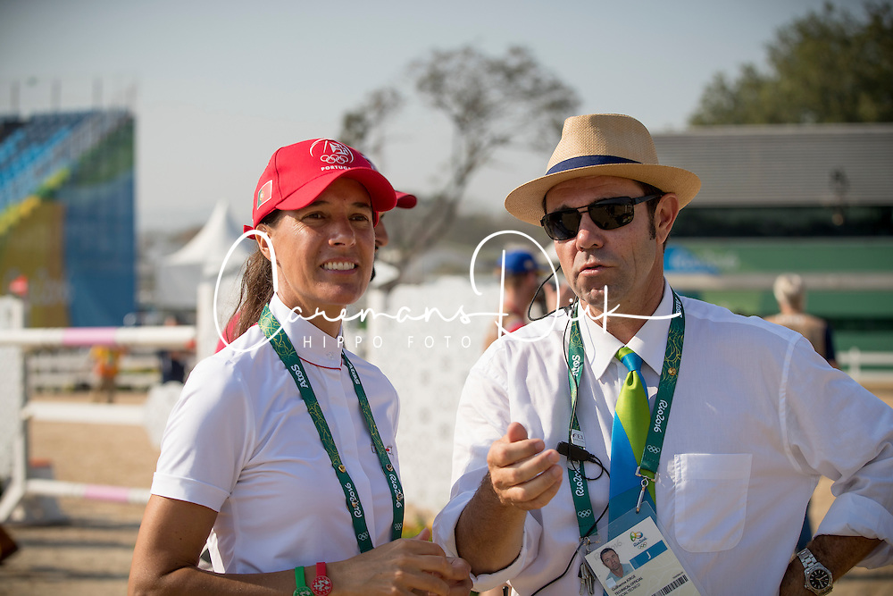 Diniz Luciana, POR, Jorge Guilherme<br /> Olympic Games Rio 2016<br /> © Hippo Foto - Dirk Caremans<br /> 17/08/16