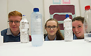 27/11/2016 REPRO FREE:  Cathal Moran Lucy Collins and Lia Pettit Glenamaddy Secondary School   inNUI Galway as part of the Galway Science & Technology Festival.<br /> Photo: Andrew Downes, Xposure.