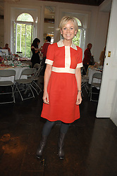 Actress LISA MAXWELL at a lunch in aid of African Solutions To African Problems held at Il Bottaccio, 9 Grosvenor Place, London on 20th May 2008.<br />
