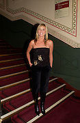 Tamzin Outhwaithe, European premiere of Cirque de Soleil's Dralion, Royal Albert Hall and afterwards at the Natural History Museum, 8 January 2003.  .© Copyright Photograph by Dafydd Jones 66 Stockwell Park Rd. London SW9 0DA Tel 020 7733 0108 www.dafjones.com