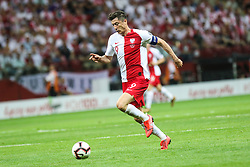 June 10, 2019 - Warsaw, Poland - Poland's forward Robert Lewandowski during the UEFA Euro 2020 qualifier Group G football match Poland against Israel on June 10, 2019 in Warsaw, Poland. (Credit Image: © Foto Olimpik/NurPhoto via ZUMA Press)