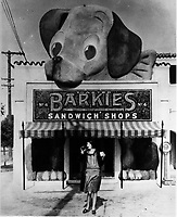 1928 Barkie's Sandwich Shop at 3649 Beverly Boulevard