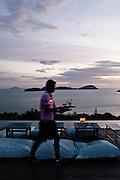 The Baba Nest deck at Sri Panwa resort, Phuket