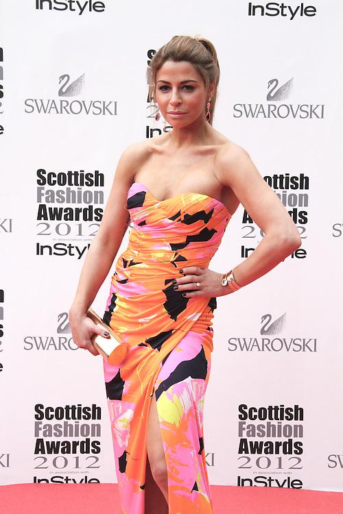 Olcay Gulsen attends the Scottish Fashion Awards, Glasgow, UK. 12/06/2012 Vito Andreoni/CatchlightMedia