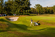 01-09-2016 Golffoto's van het Nationaal Open op de Hilversumsche Golf Club in Hilversum. finale.  Anne van Dam op 18