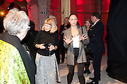 STELLA MCCARTNEY; , Stella McCartney, Sir Peter Blake, Nigel Carrington and Jane Rapley host a hard-hat party in the building site for the future home of Central St. Martin's. The Granary Building complex in King's Cross. London. 17 September 2009