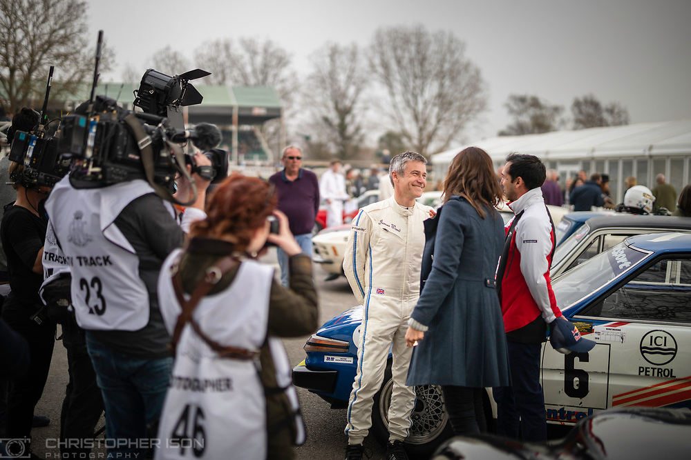 Image shot for Governors' books to be produced after 77th Member's Meeting.<br /> Picture shows Governor/guests of Governor/car of Governor Robert Brooks.<br /> Picture date: Saturday April 6, 2019.<br /> Photograph by Christopher Ison ©<br /> 07544044177<br /> chris@christopherison.com<br /> www.christopherison.com