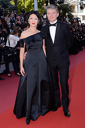 Fleur Pellerin and Laurent Olleon attending the Closing Ceremony of the 71st annual Cannes Film Festival on May 19, 2018 in Cannes, France. Photo by Aurore Marechal/ABACAPRESS.COM