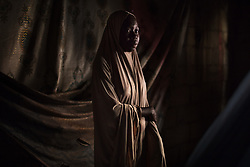 Maimuna, 16, has a 6-month-old son, born of a Boko Haram fighter. Boko Haram, a militant Islamist group, began it's insurgency against the Nigerian government in 2009. The terrorist group drew global outrage after abducting more than 270 schoolgirls from the town of Chibok. Many of the girls were forced into marriage and motherhood. The Borno State National Emergency Agency estimates tens of thousands more women and girls have also been kidnapped by militants in less-publicized attacks. In armed conflicts, child marriage is increasingly used as a weapon of war, forcing girls to give birth give birth to the next germination of fighters. Thousands of girls remain missing in Nigeria with little help of rescue. Those who manage to escape struggle with little support to rebuild their lives.