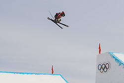 February 18, 2018 - Pyeongchang, SOUTH KOREA - 180218 Alex Bellemare of Canada competes in the Men's Slopestyle Qualification during day nine of the 2018 Winter Olympics on February 18, 2018 in Pyeongchang..Photo: Petter Arvidson / BILDBYRÃ…N / kod PA / 91979 (Credit Image: © Petter Arvidson/Bildbyran via ZUMA Press)