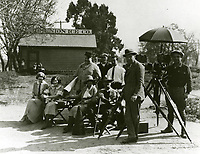 1924 Filming at Paramount Studios