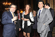 ANDREI NAVROKOV; ALINA NIZROVA; MARWAN CHATILA, Celebration of the  200TH Anniversary of the  Birth of Rt.Hon. John Bright MP  and the publication of <br /> ÔJohn Bright: Statesman, Orator, AgitatorÕ by Bill Cash MP. Reform Club. London. 14 November 2011. <br /> <br />  , -DO NOT ARCHIVE-© Copyright Photograph by Dafydd Jones. 248 Clapham Rd. London SW9 0PZ. Tel 0207 820 0771. www.dafjones.com.<br /> ANDREI NAVROKOV; ALINA NIZROVA; MARWAN CHATILA, Celebration of the  200TH Anniversary of the  Birth of Rt.Hon. John Bright MP  and the publication of <br /> 'John Bright: Statesman, Orator, Agitator' by Bill Cash MP. Reform Club. London. 14 November 2011. <br /> <br />  , -DO NOT ARCHIVE-© Copyright Photograph by Dafydd Jones. 248 Clapham Rd. London SW9 0PZ. Tel 0207 820 0771. www.dafjones.com.