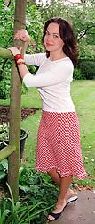 Actress LOUISA McCARTHY at home on 18th May 2000.<br /> OEG 18