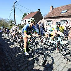 03-04-2016: Wielrennen: Ronde van Vlaanderen vrouwen: Oudenaarde  <br />OUDENAARDE (BEL) cycling  The sixth race in the UCI Womensworldtour is the ronde van Vlaanderen. A race over the famous Flemish climbs. Brianna Walle