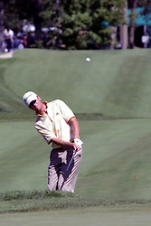 16 July 2006 Defending champ Sean O'Hair wedges from the tall rough on #9. .The John Deere Classic is played at TPC at Deere Run in Silvis Illinois, just outside of the Quad Cities