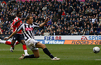 Photo: Steve Bond/Sportsbeat Images.<br /> West Bromwich Albion v Charlton Athletic. Coca Cola Championship. 15/12/2007. Roman Bednar scores for West Brom