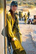 Female Israeli commander poses during field exercise week. Photography by Debbie Zimelman, Modiin, Israel