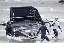 Carnage after the racing was postponed . Day 4 of the McDougall + McConaghy 2015 Moth Worlds, Sailing Anarchy and Sperry Top-Sider Moth Worlds coverage 2015, Sorrento, Australia. January 11th 2015. Photo © Sander van der Borch.