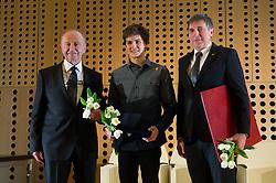 Janez Ivan Hafner, Domen Skofic and Gabriel Gros  at 52th Annual Awards of Stanko Bloudek for sports achievements in Slovenia in year 2016 on February 14, 2017 in Brdo Congress Center, Brdo, Ljubljana, Slovenia.  Photo by Martin Metelko / Sportida